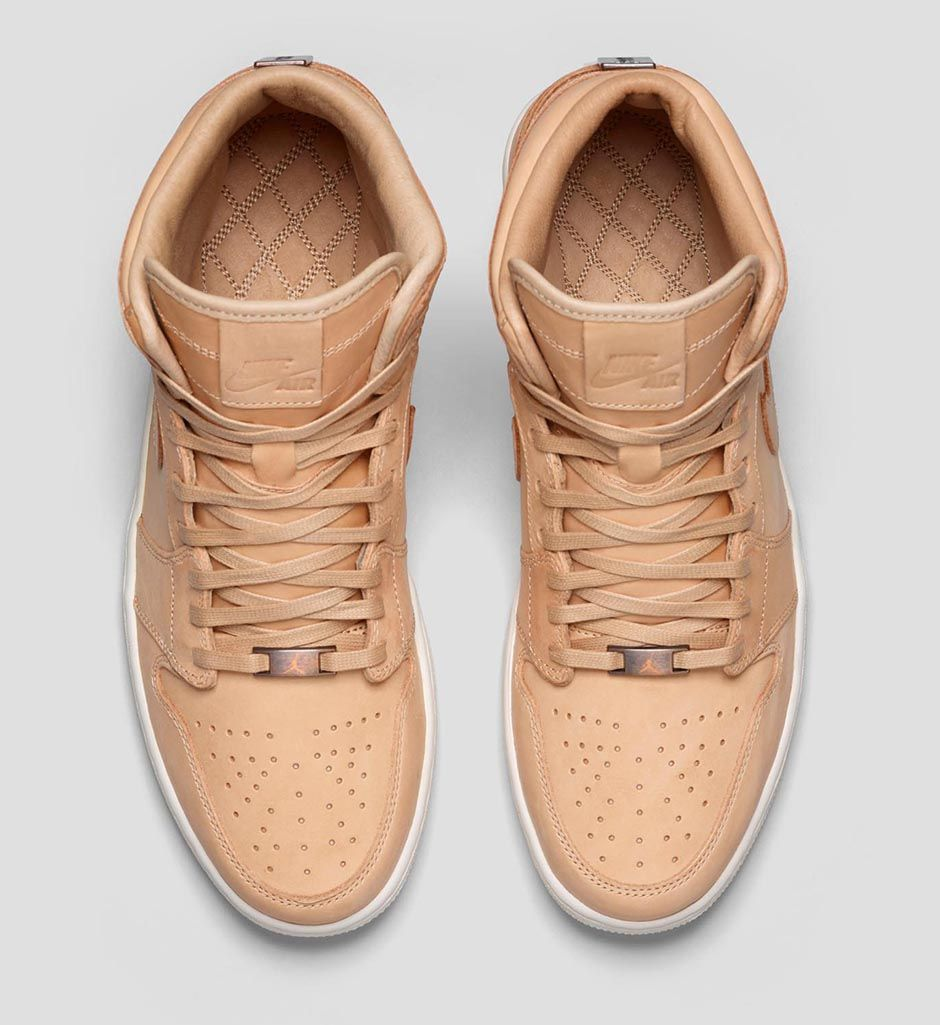 Air Jordan 1 Pinnacle Vachetta Tan 3