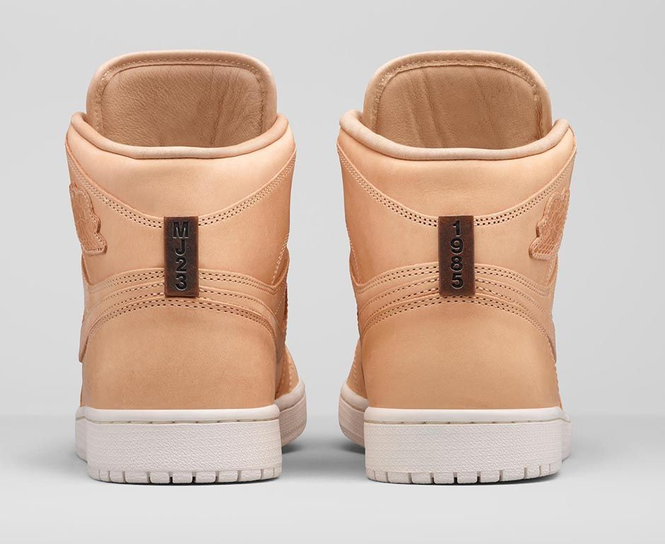 Air Jordan 1 Pinnacle Vachetta Tan 4