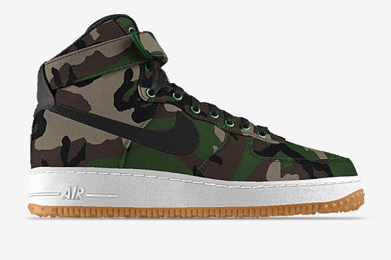 Nike Air Force 1 High Camo