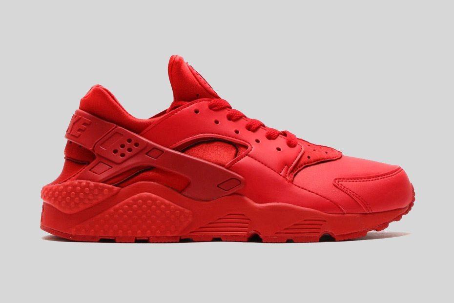 Nike Air Huarache All Red