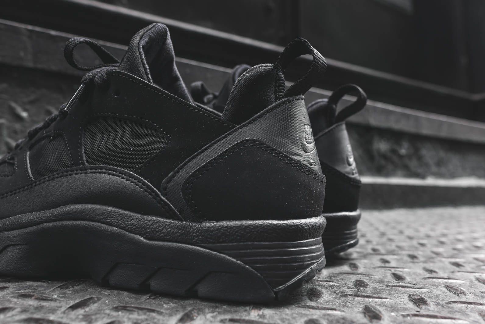 Nike 10 Huarache Triple Black Size rrAq0