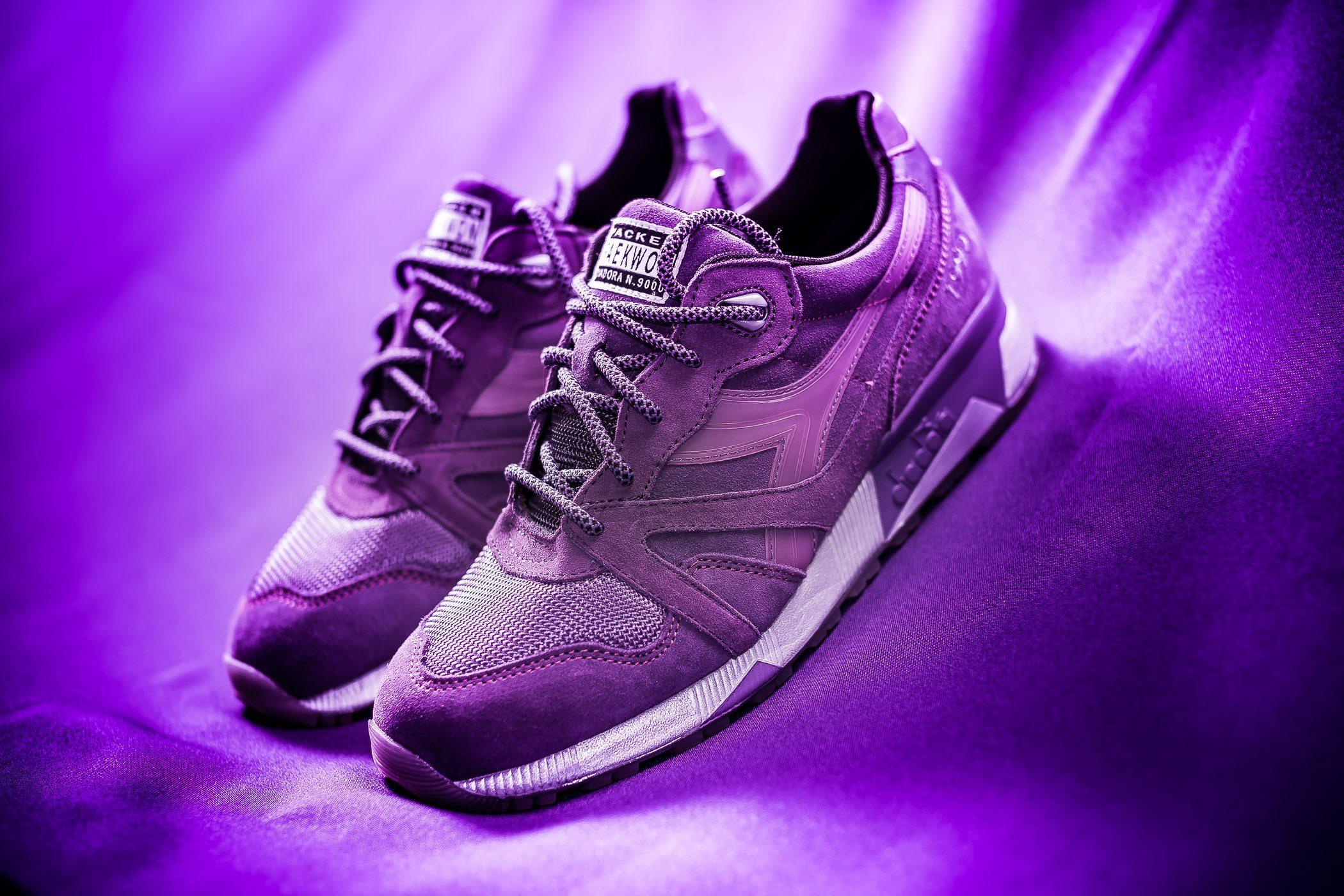 Packer Shoes x Raekwon x Diadora N9000 Purple Tape 11