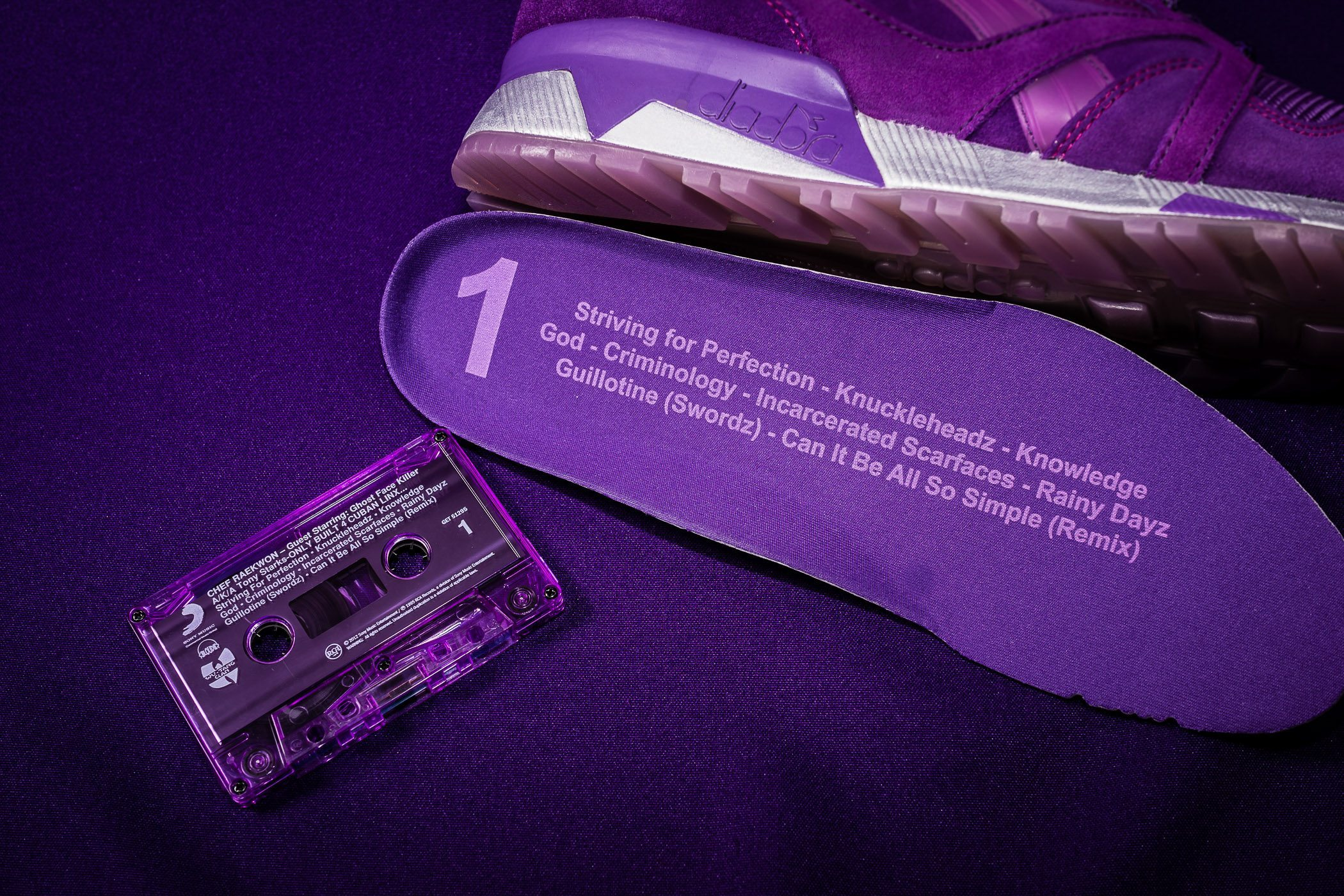 Packer Shoes x Raekwon x Diadora N9000 Purple Tape 2