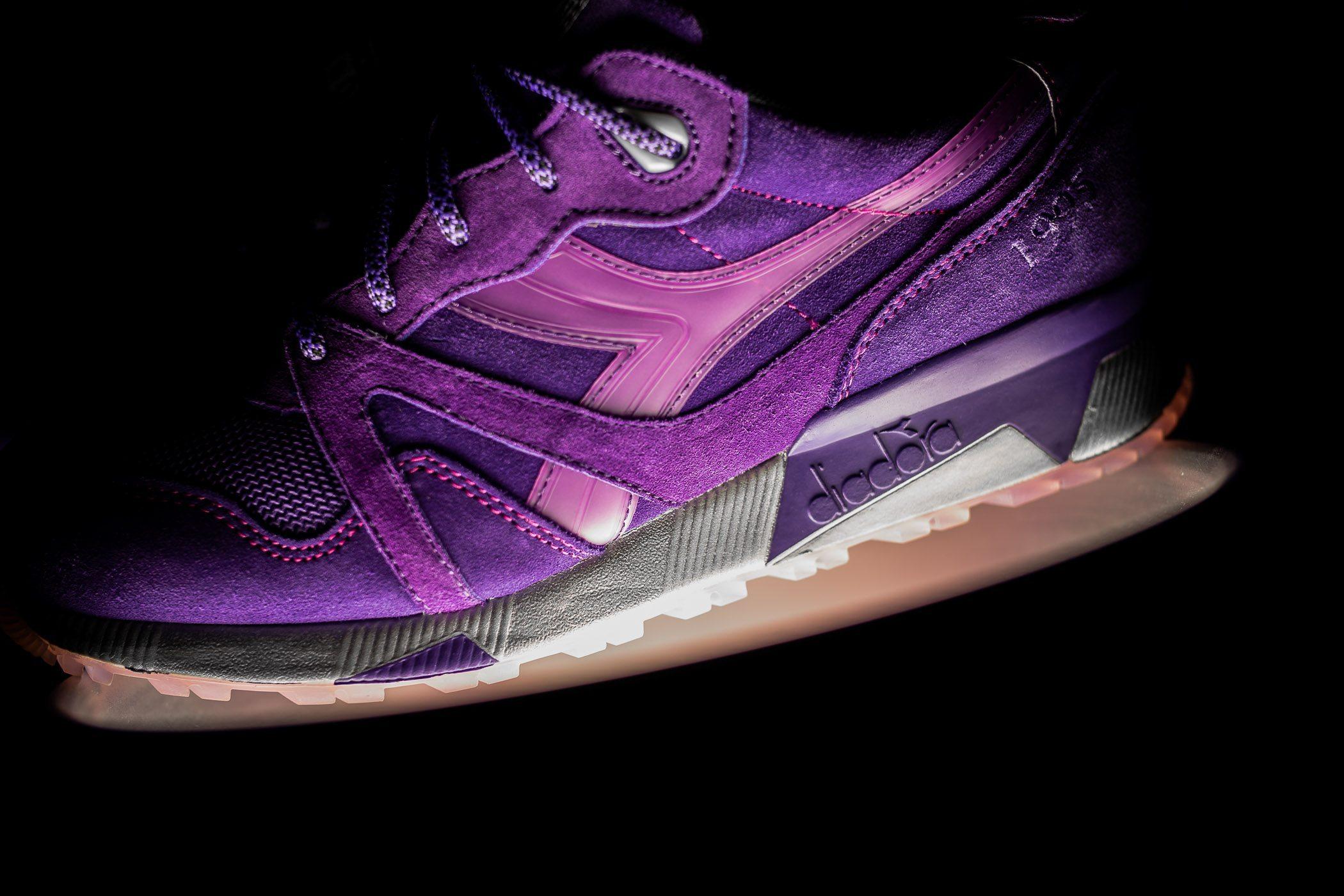 Packer Shoes x Raekwon x Diadora N9000 Purple Tape 4