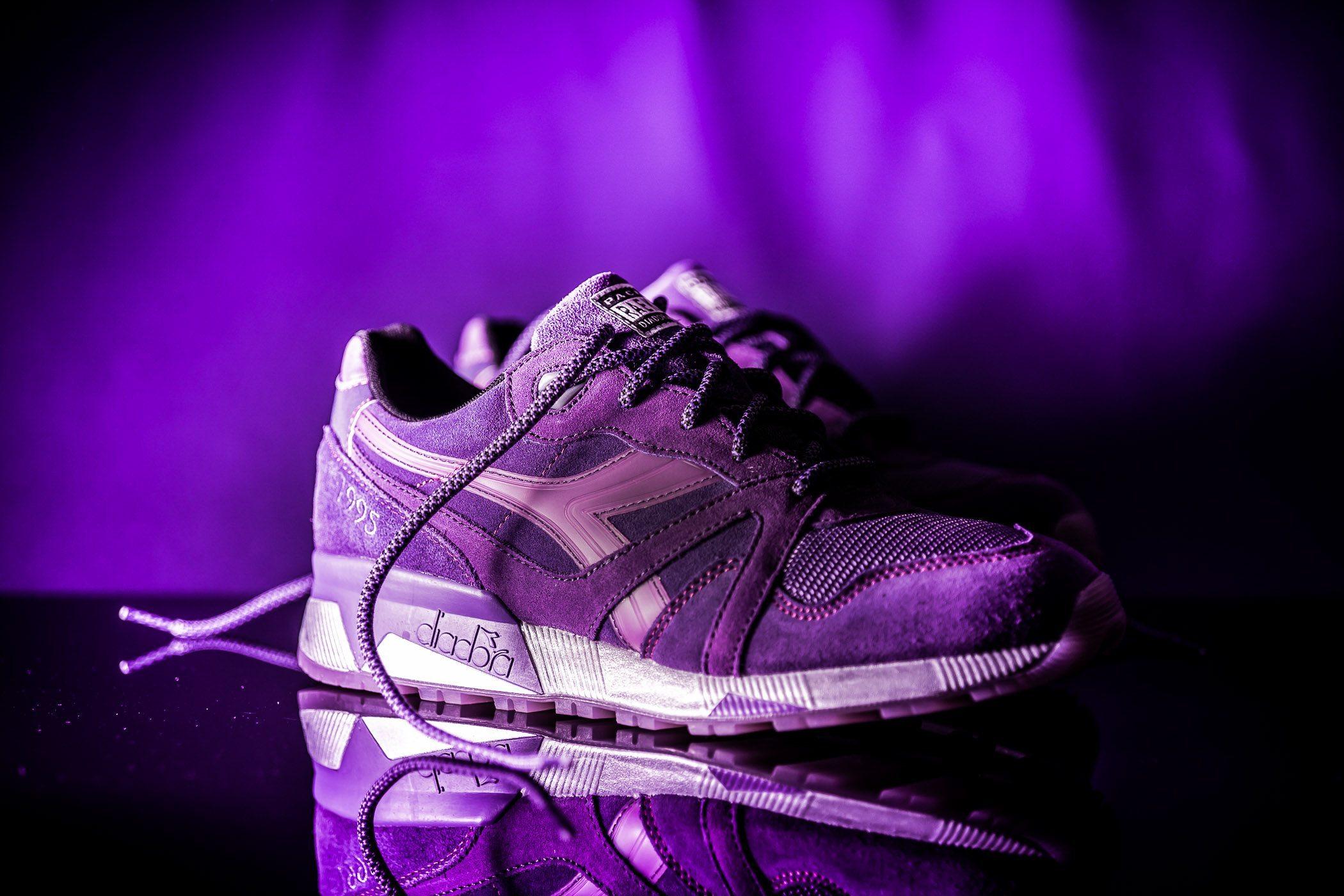 Packer Shoes x Raekwon x Diadora N9000 Purple Tape 6