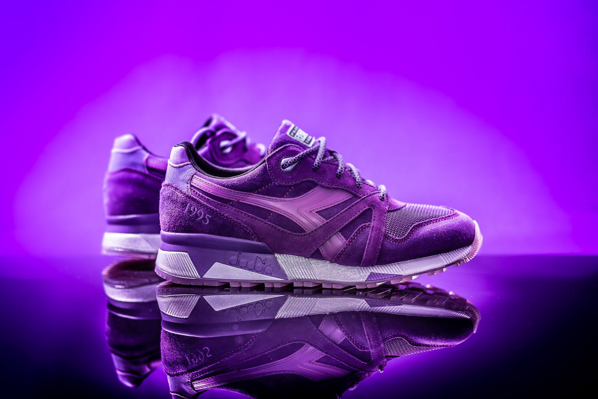 Packer Shoes x Raekwon x Diadora N9000 Purple Tape 7