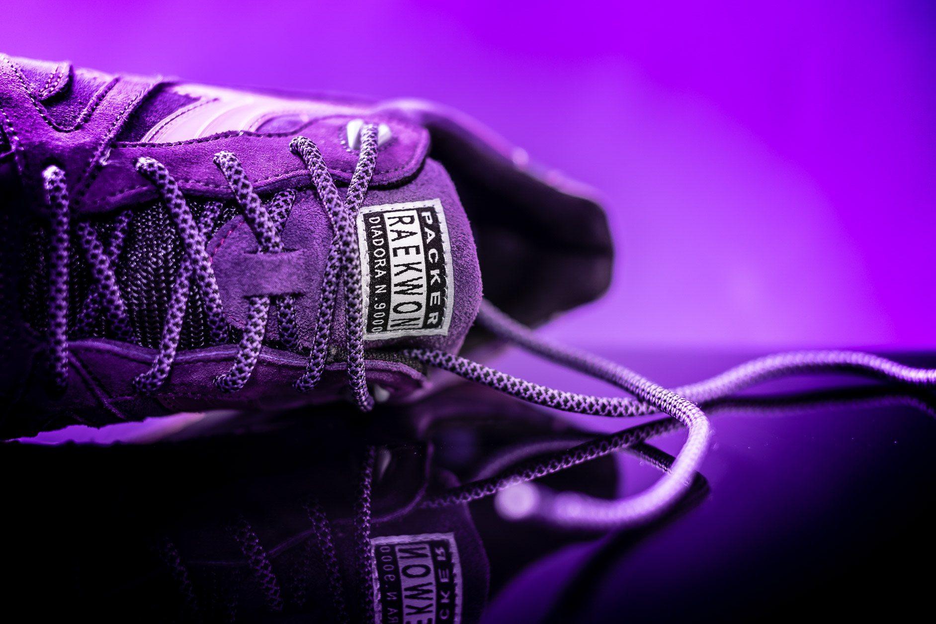 Packer Shoes x Raekwon x Diadora N9000 Purple Tape 9