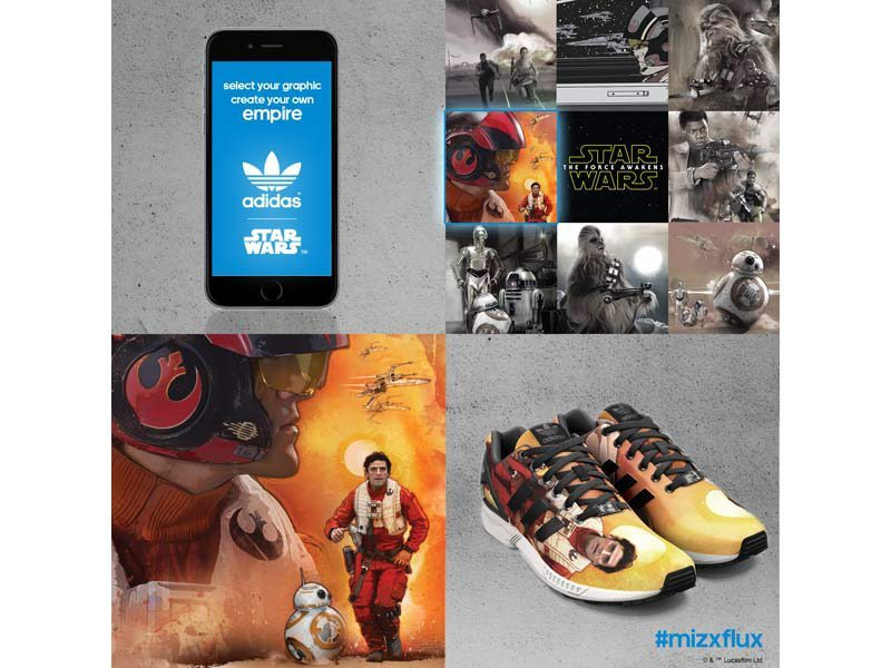 adidas Originals mi ZX FLUX STAR WARS The Force Awakens 3