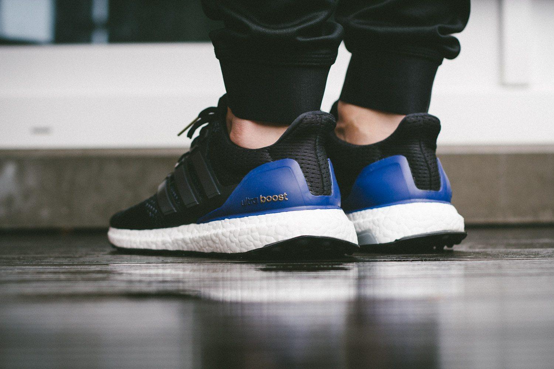adidas Ultra Boost Black Blue 10