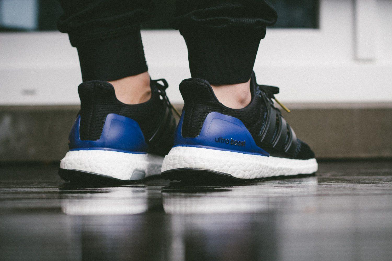 adidas Ultra Boost Black Blue 11