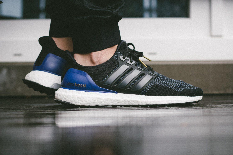adidas Ultra Boost Black Blue 12