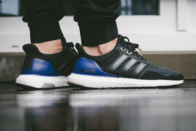 adidas Ultra Boost Black Blue 13