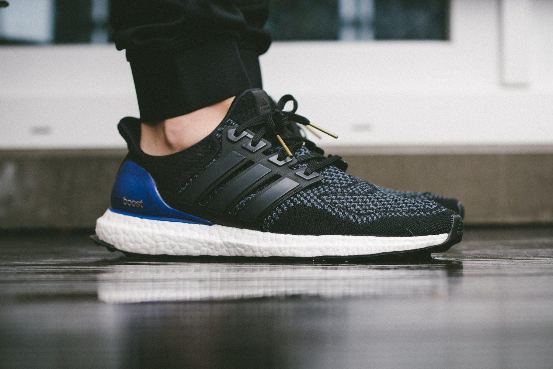 adidas Ultra Boost Black Blue 2