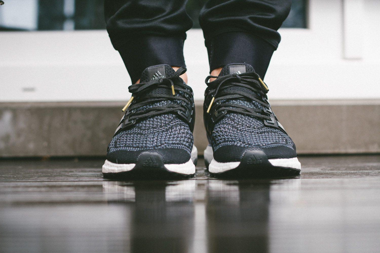 adidas Ultra Boost Black Blue 4