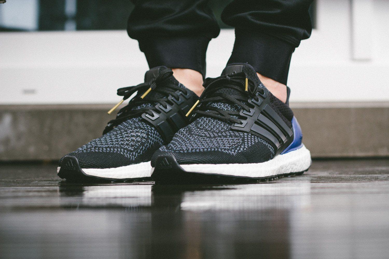 adidas Ultra Boost Black Blue 5