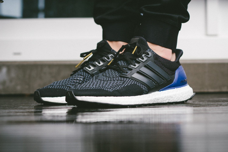 adidas Ultra Boost Black Blue 6