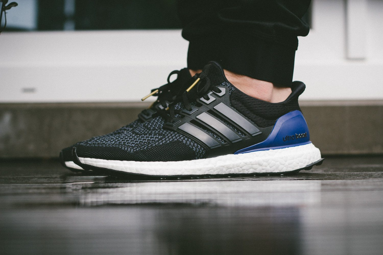 adidas Ultra Boost Black Blue 7