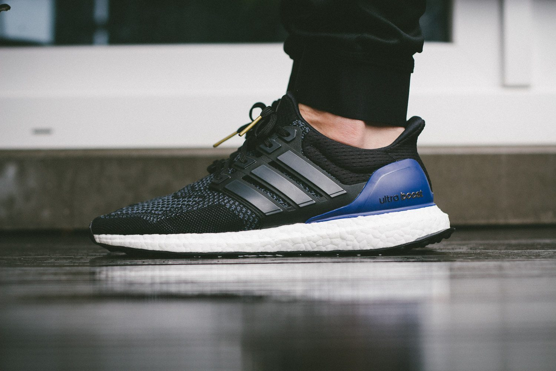 adidas Ultra Boost Black Blue 8