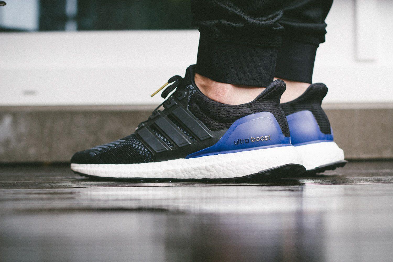 adidas Ultra Boost Black Blue 9