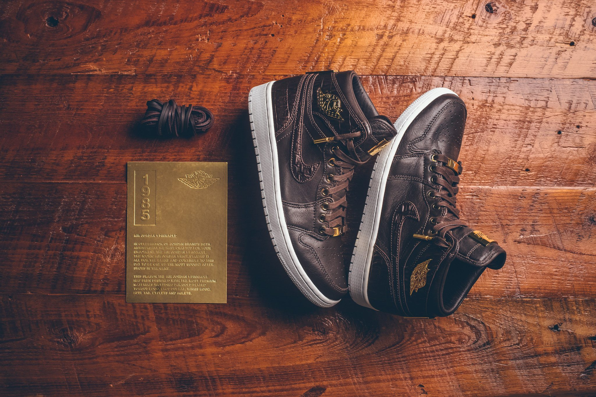 Air Jordan 1 Pinnacle Baroque Brown 1