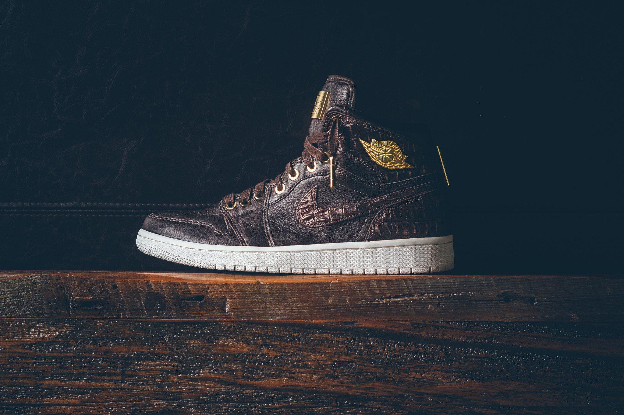 Air Jordan 1 Pinnacle Baroque Brown 9
