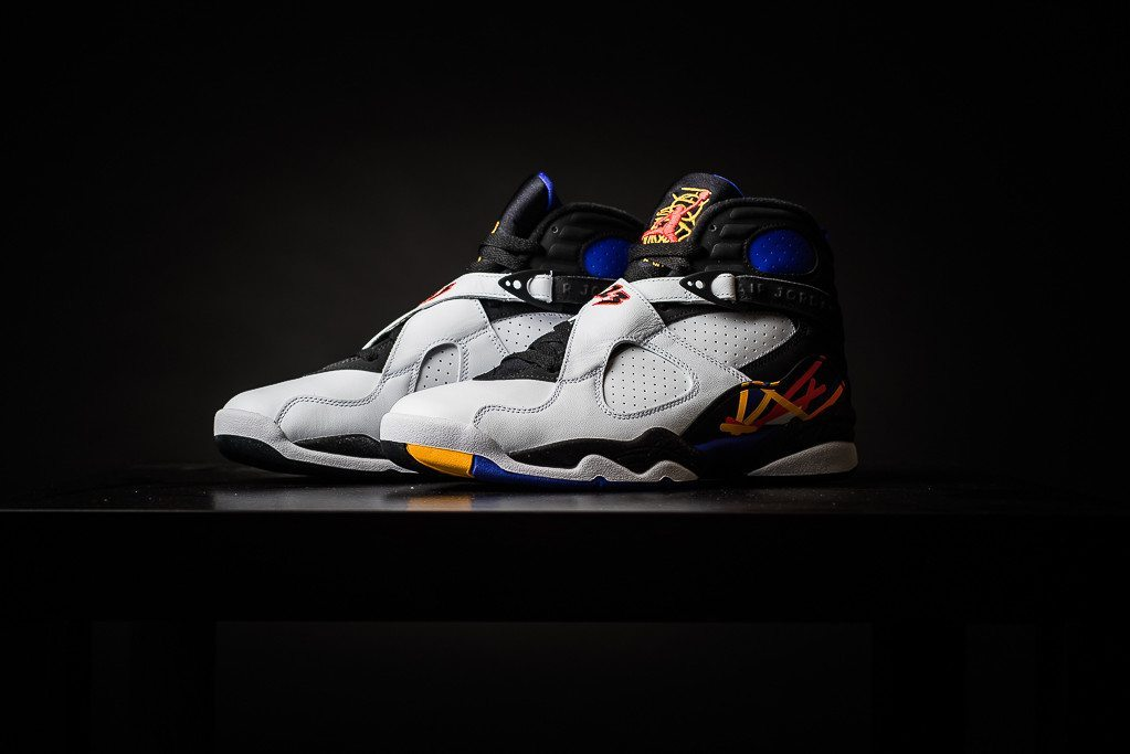 Air Jordan 8 Retro Three Times A Charm 1