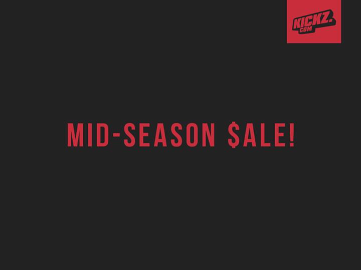 KICKZ Mid Season Sale 2015
