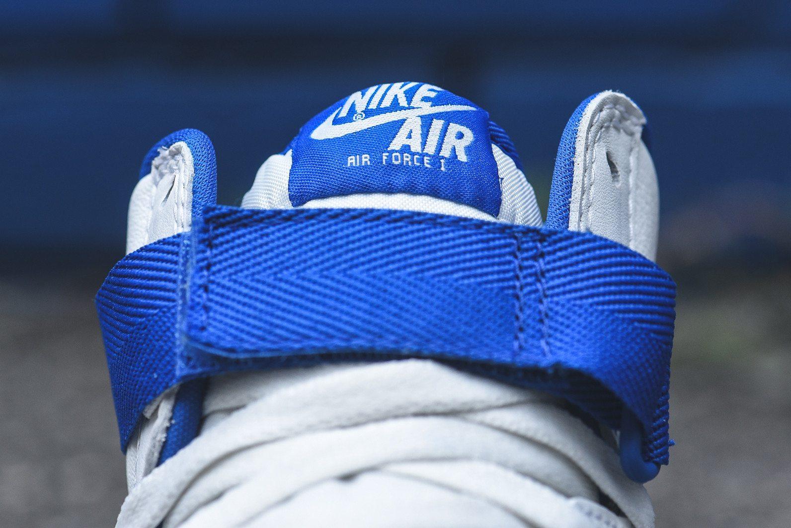 Nike Air Force 1 Hi Retro White Game Royal 12