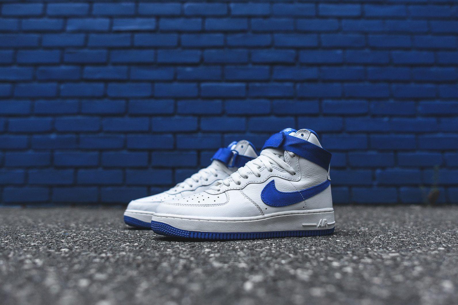 Nike Air Force 1 Hi Retro White Game Royal 4