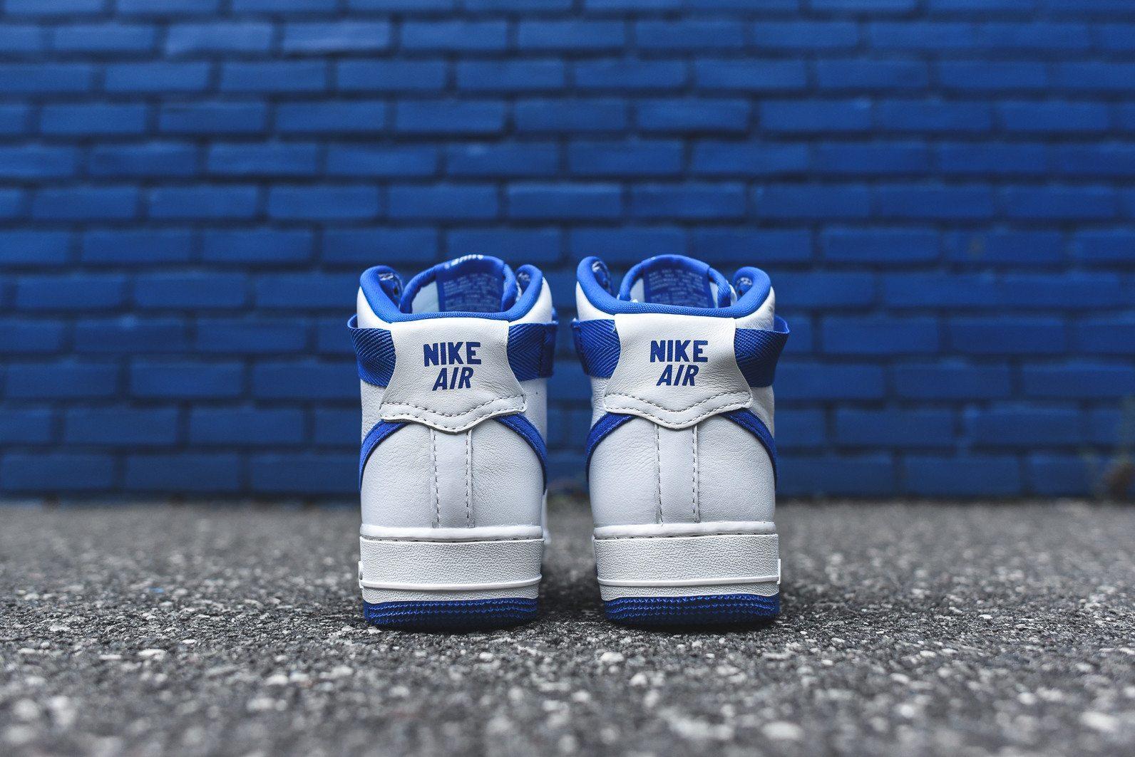 Nike Air Force 1 Hi Retro White Game Royal 6