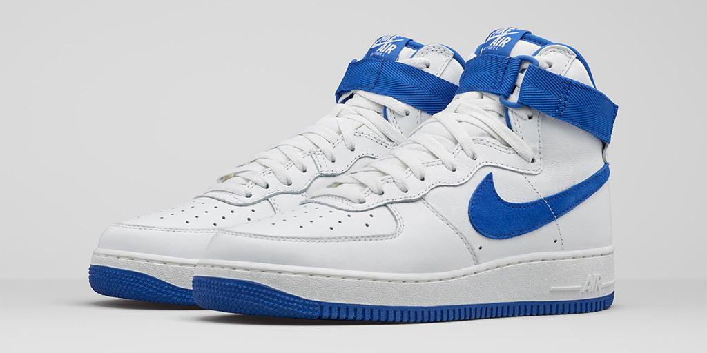Nike Air Force 1 High Retro White Game Royal
