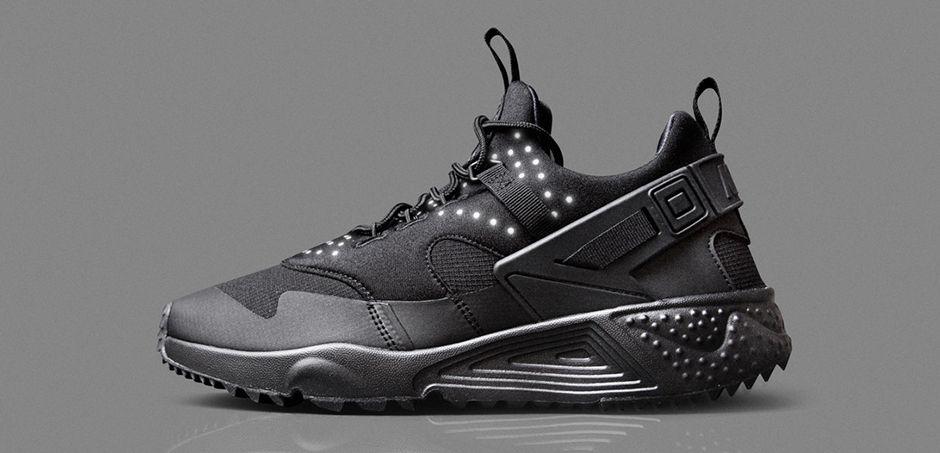 Nike Air Huarache Utility All Black
