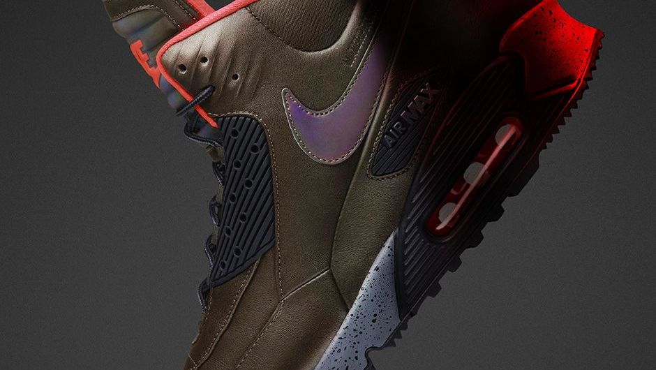 Nike Air Max 90 SneakerBoot - Dark Loden | #SNKR Releases