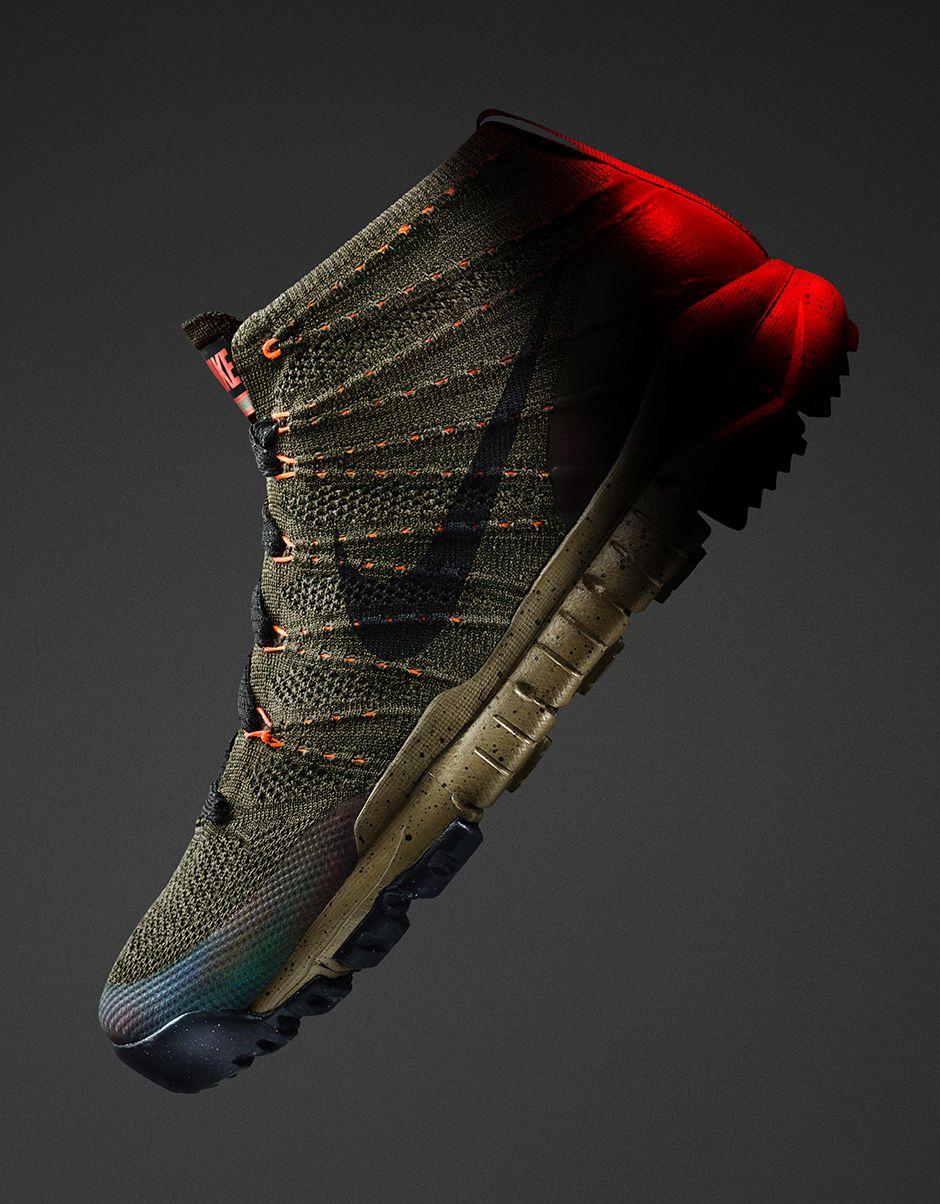 Nike Flyknit Chukka SneakerBoot