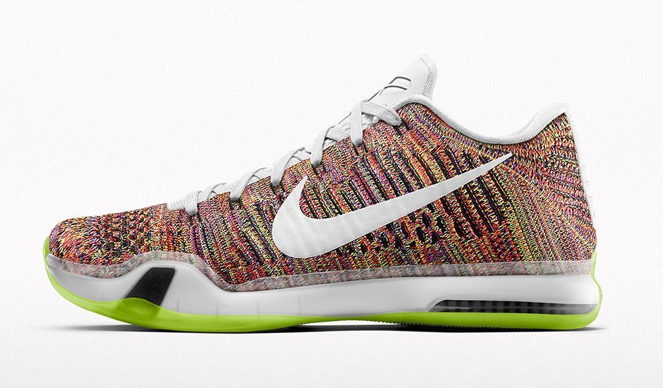 Nike Kobe X Elite Low iD Multicolour