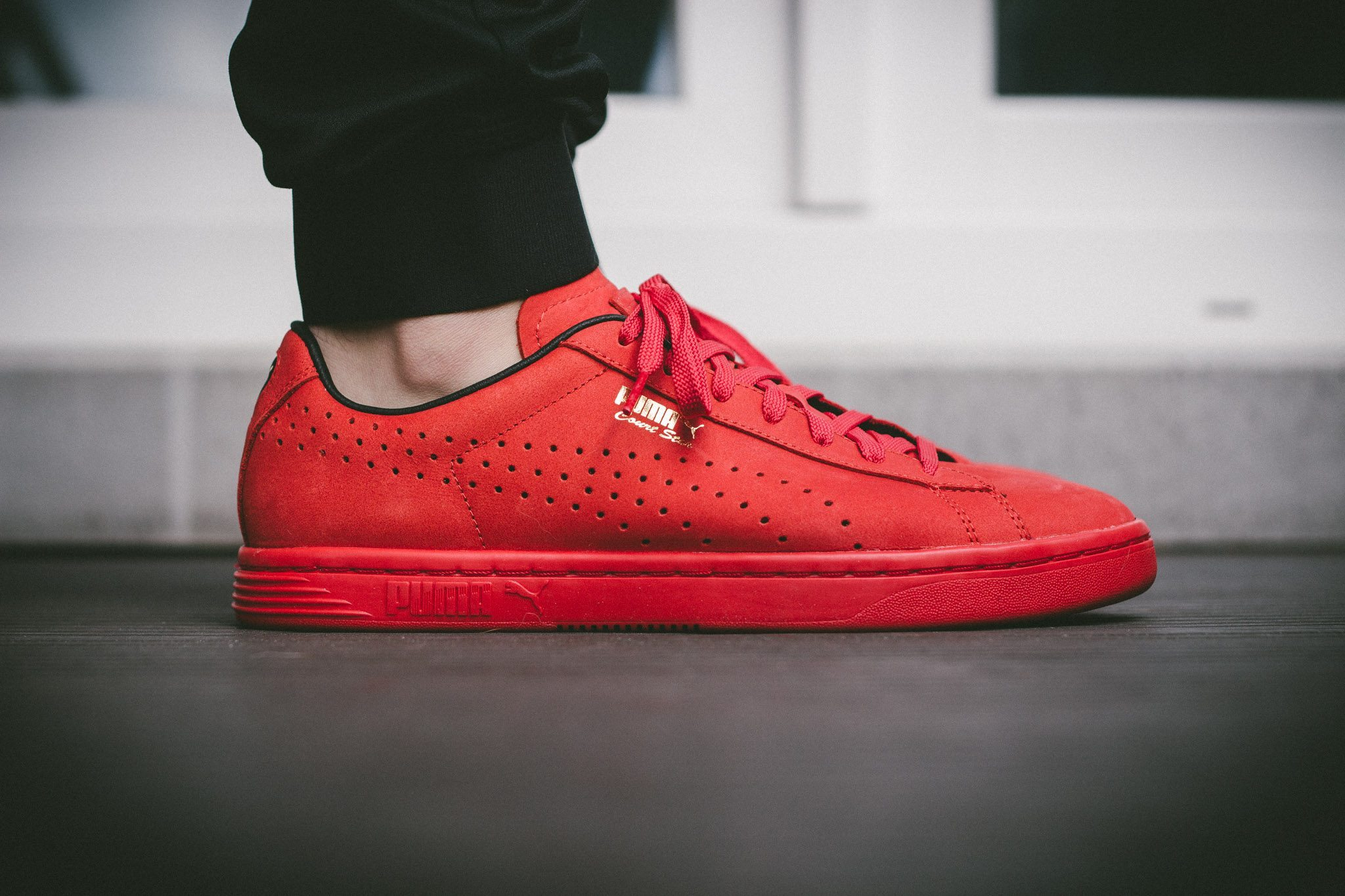 Puma Court Star OG High Risk All Red 1