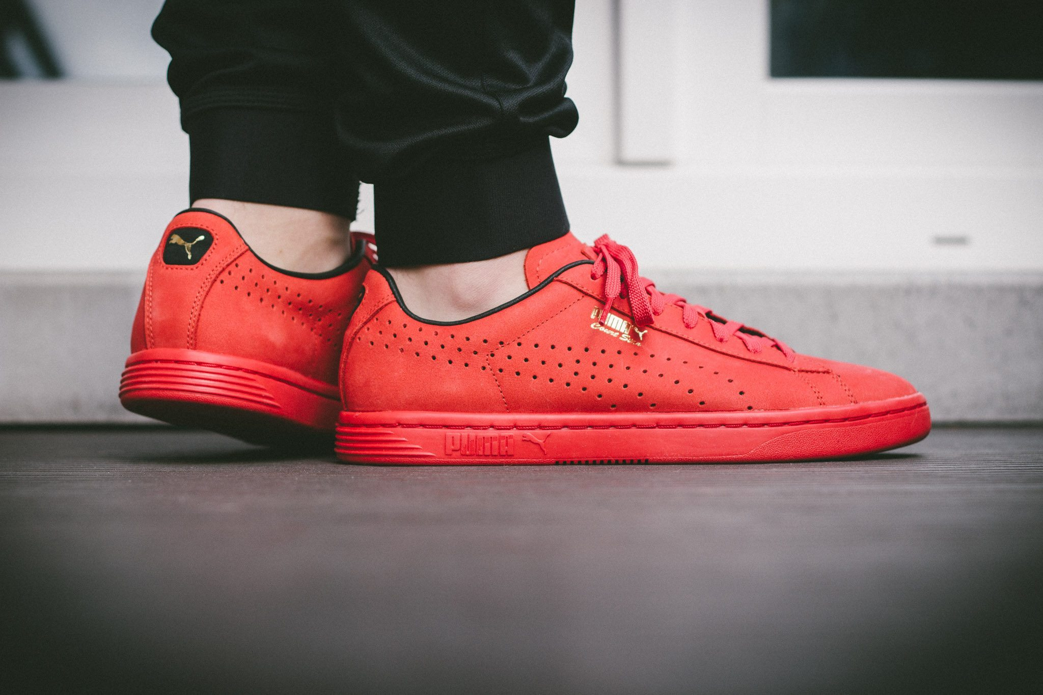 Puma Court Star OG High Risk All Red 12