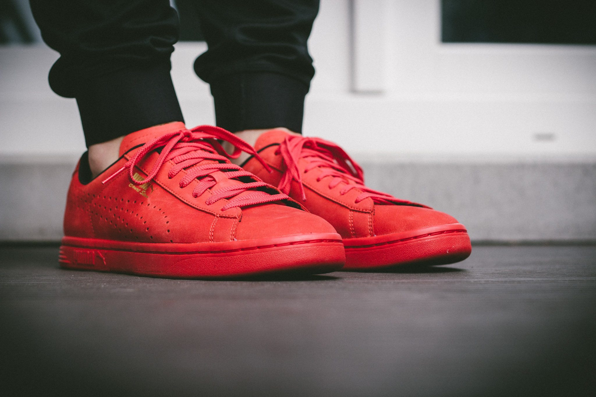 Puma Court Star OG High Risk All Red 3