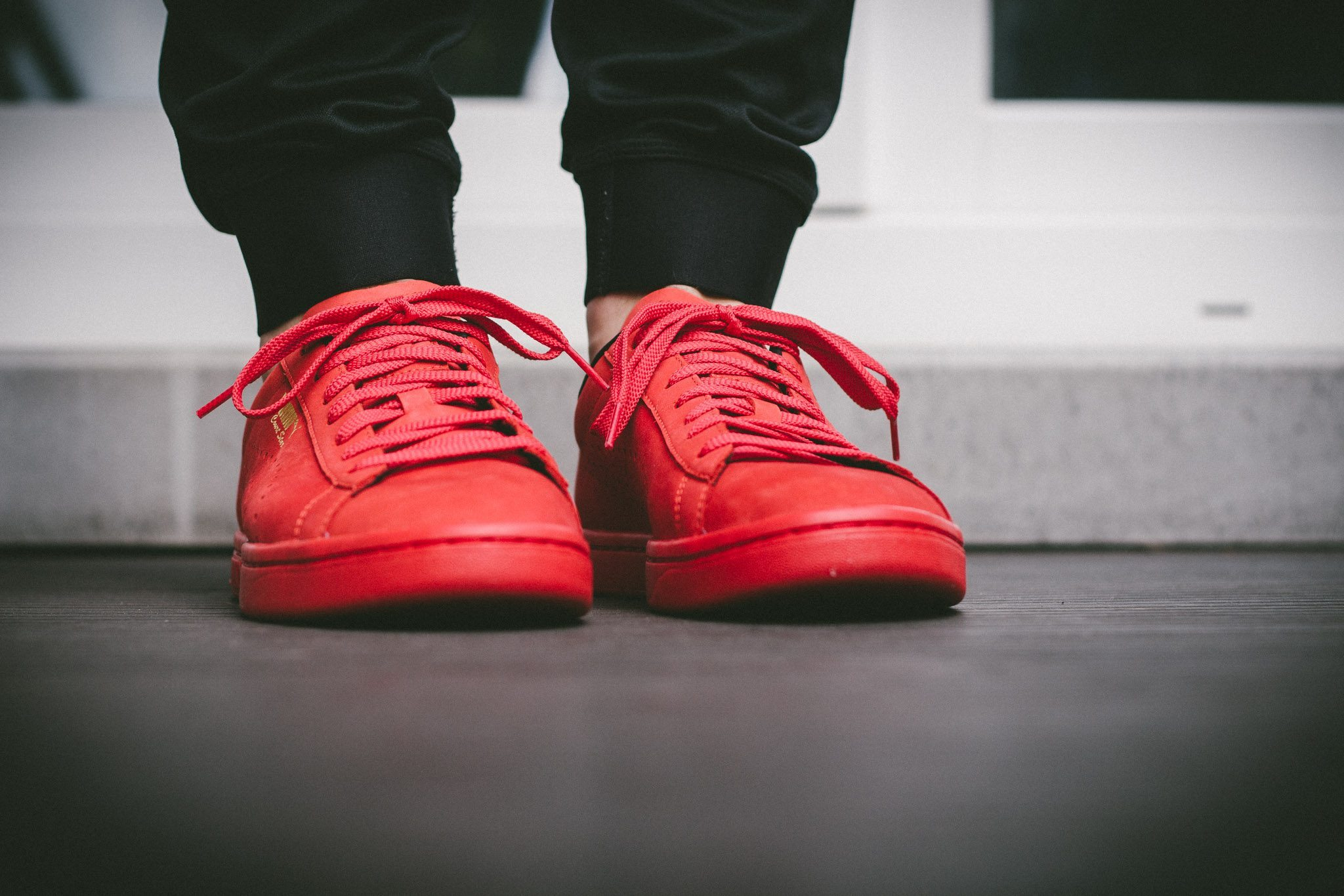 Puma Court Star OG High Risk All Red 4