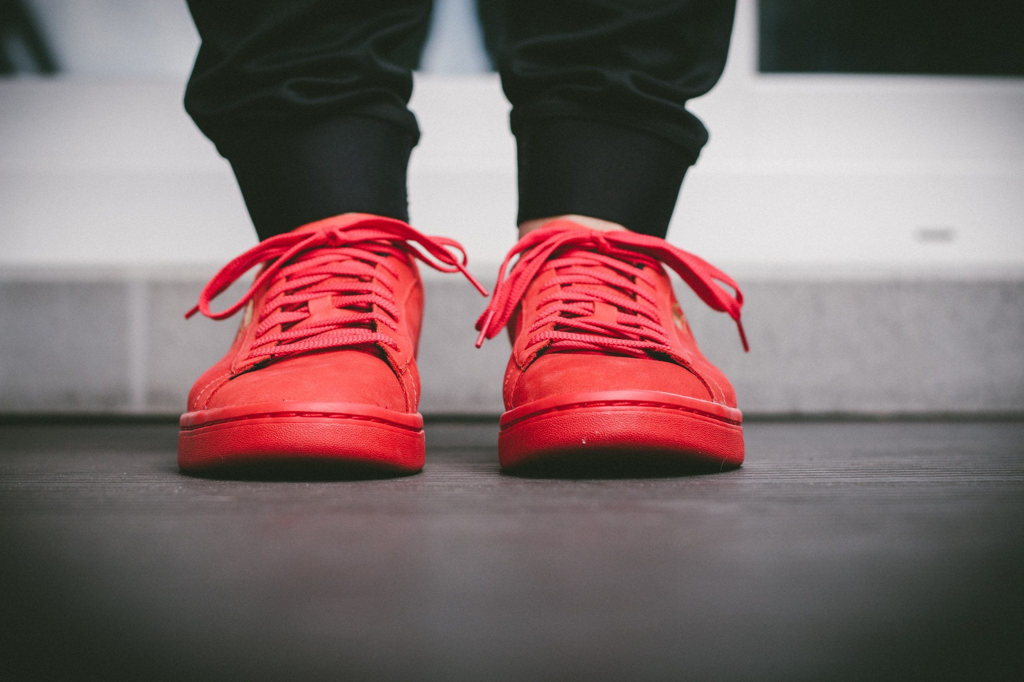Puma Court Star OG High Risk All Red 5