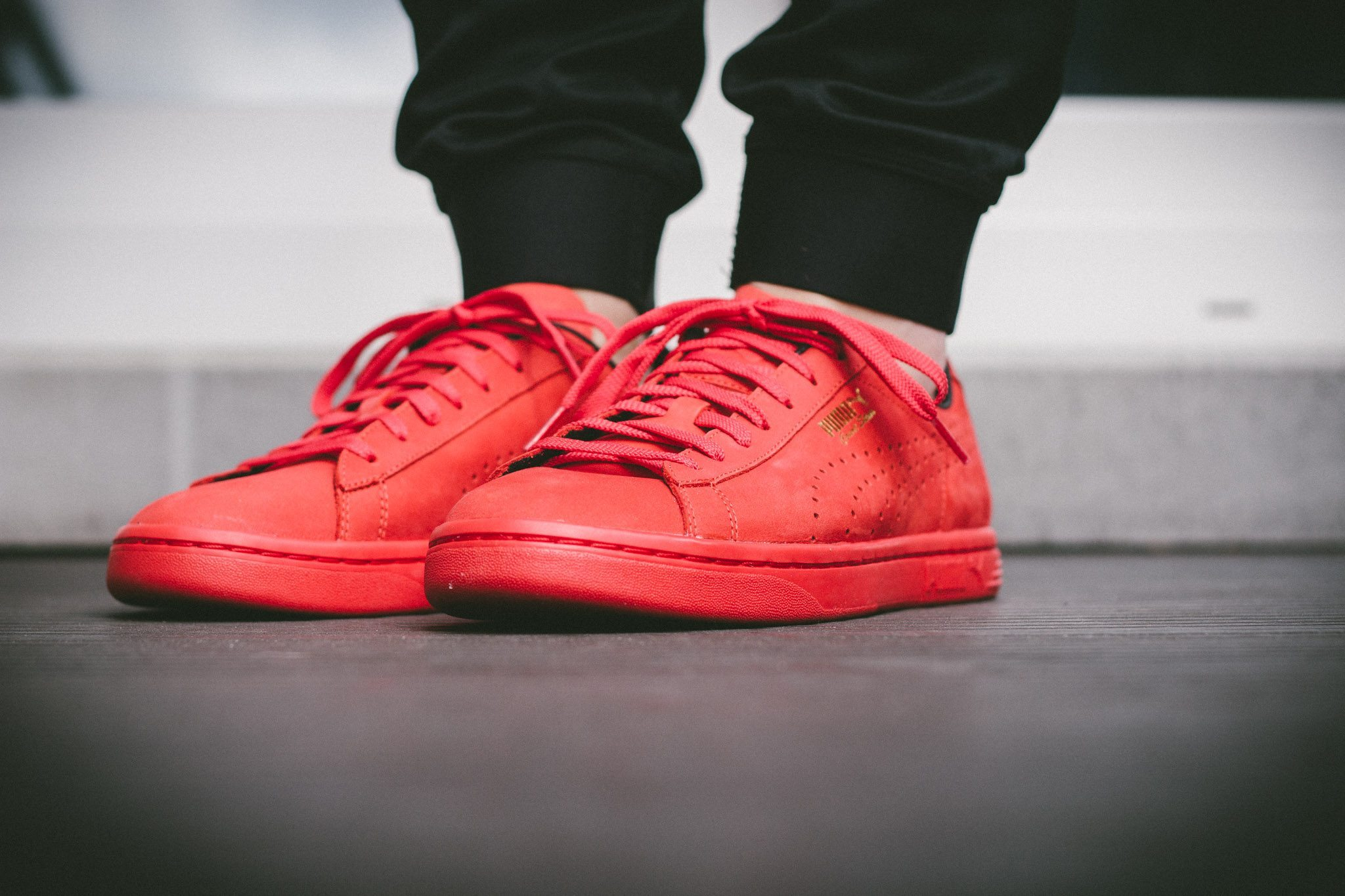 Puma Court Star OG High Risk All Red 6