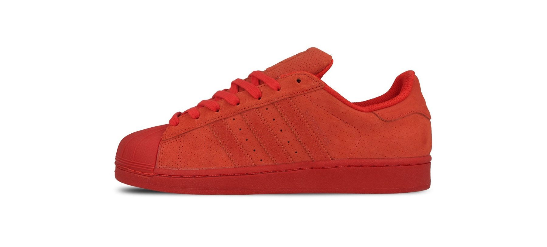 adidas Originals Superstar All Red