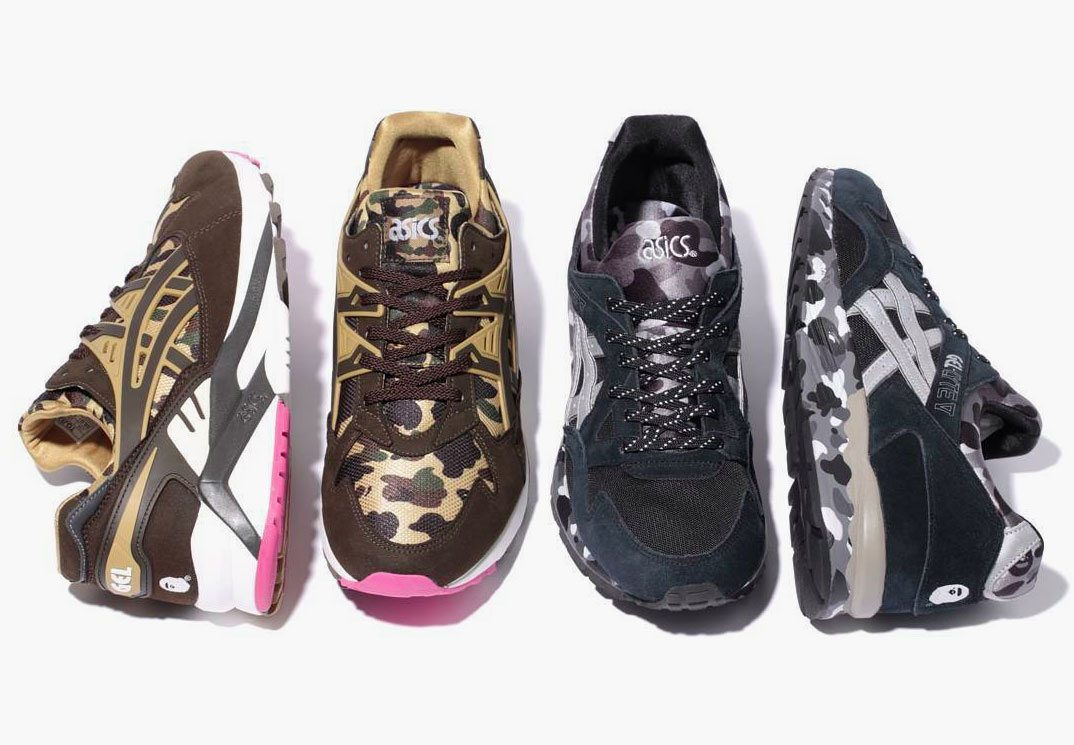 BATHING APE x ASICS Tiger Gel Pack