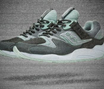 END x Saucony GRID 9000 White Noise 1 350x300