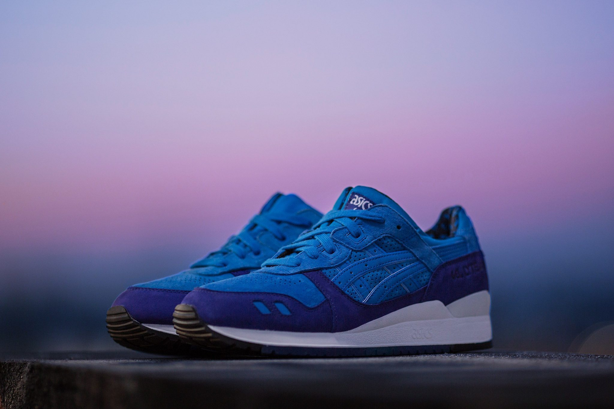 HANON x ASICS Gel Lyte III Light Night 1