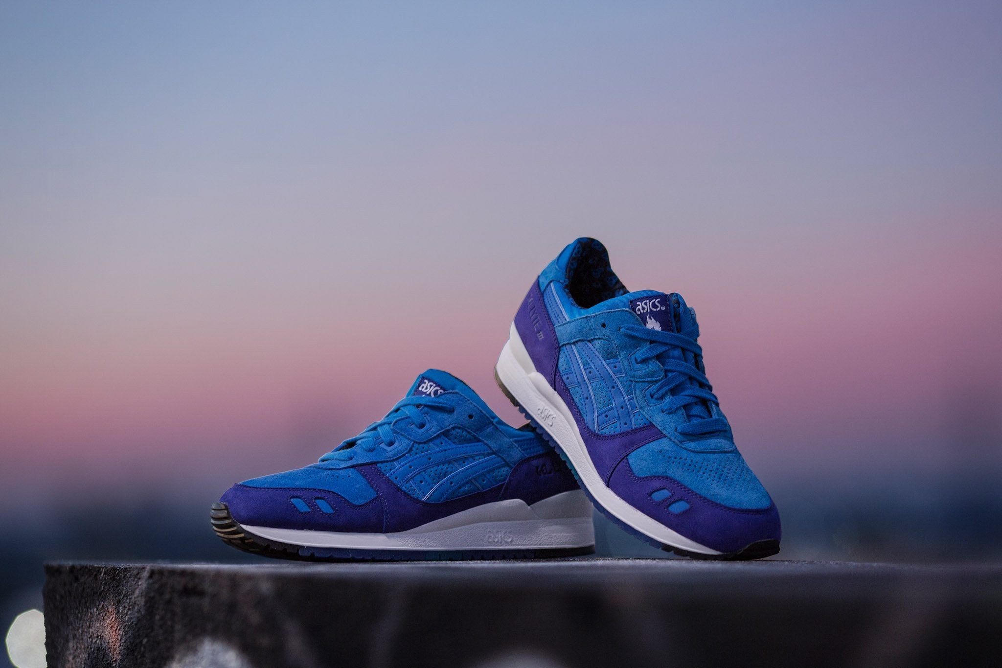 HANON x ASICS Gel Lyte III Light Night 2