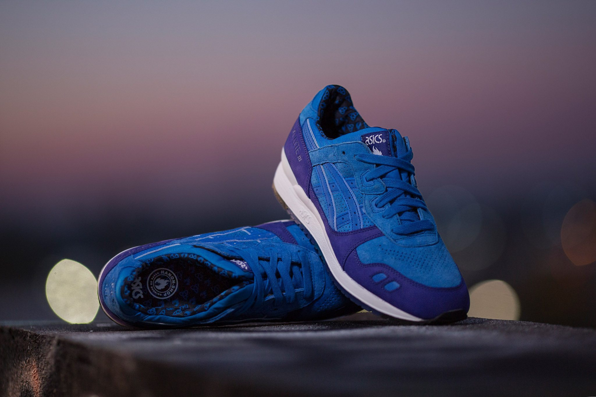 HANON x ASICS Gel Lyte III Light Night 5