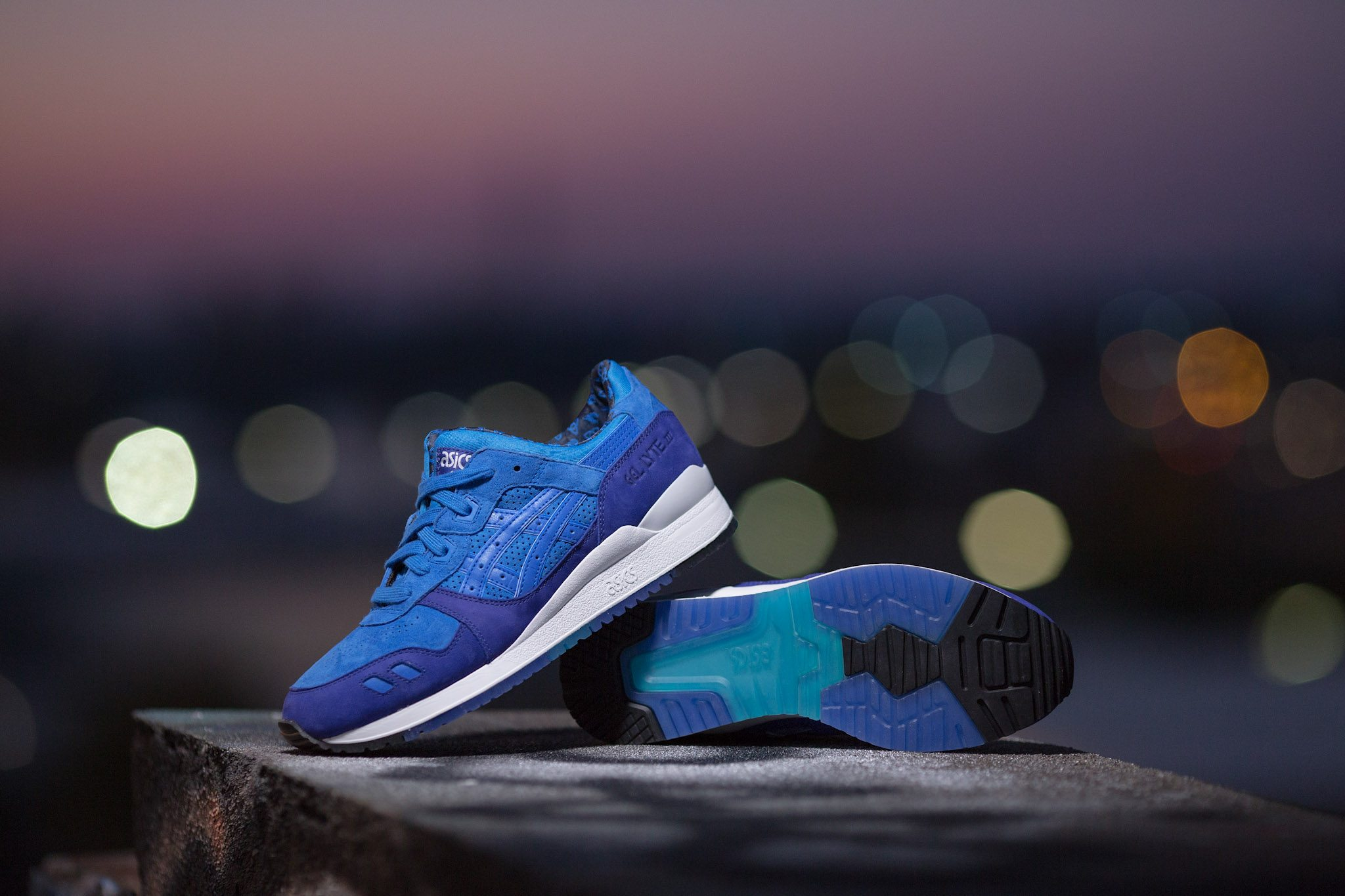 HANON x ASICS Gel Lyte III Light Night 8