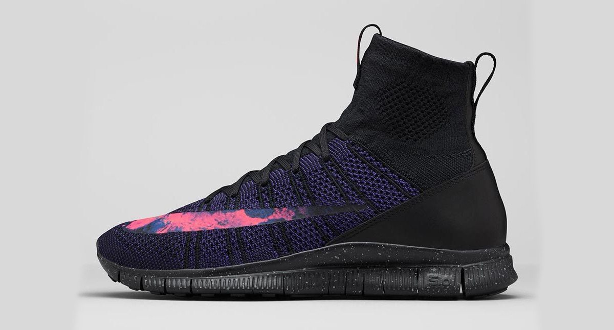 Nike Free Flyknit Mercurial Volcanic
