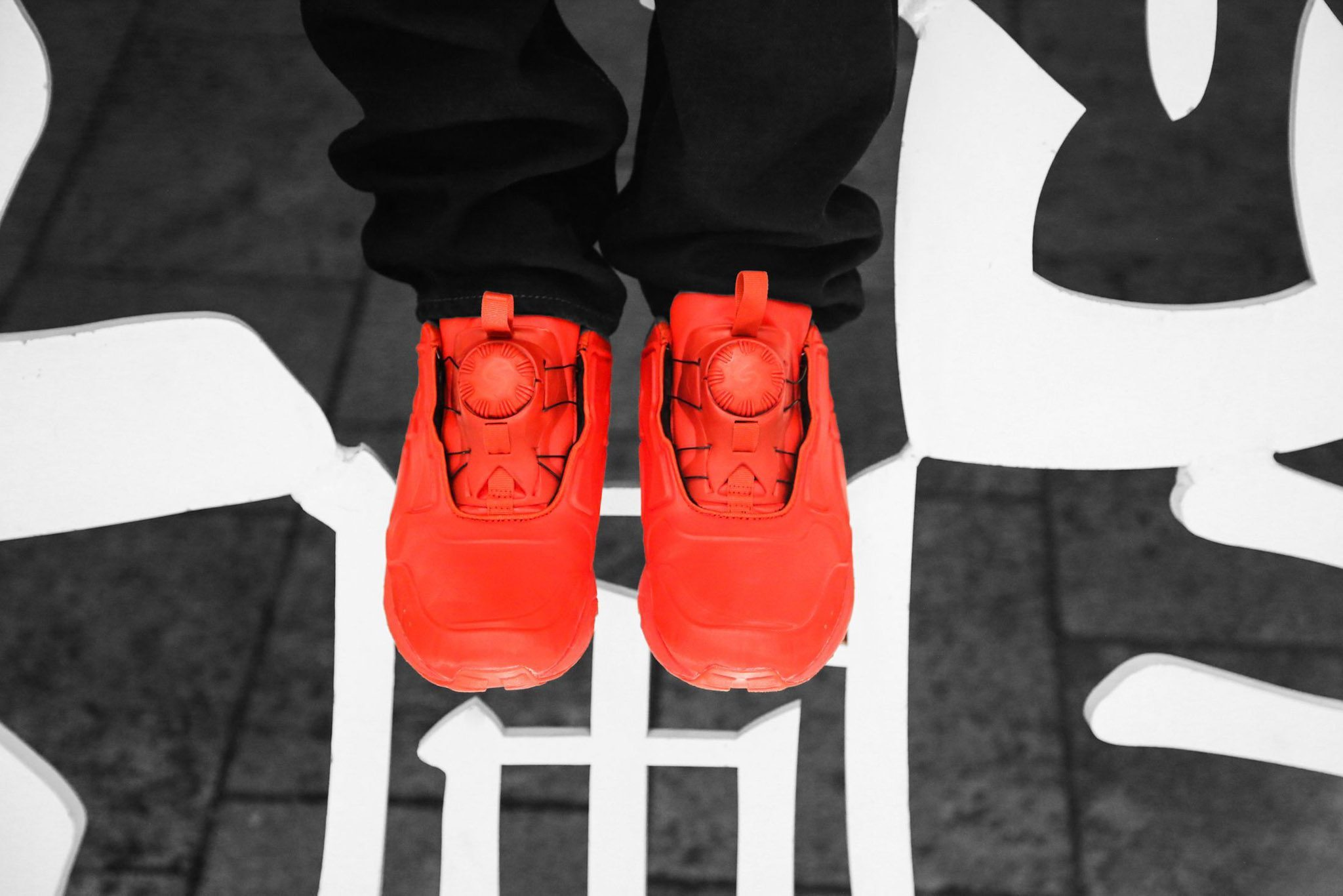 PUMA DISC 89 All Red All Black 9